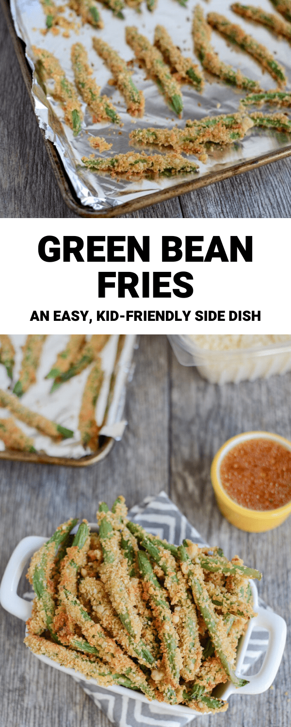 These Green Bean Fries are an easy, kid-friendly snack or dinner side dish.