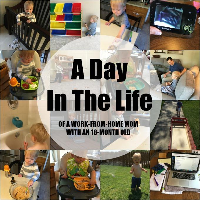 day in the life with an 18 month old