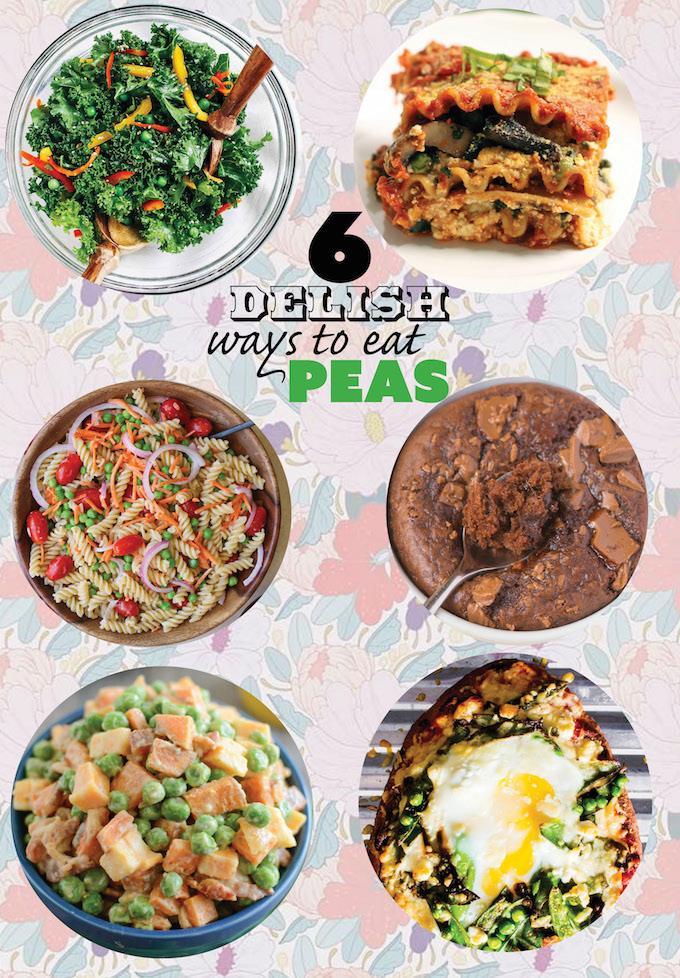 6 Healthy Ways To Eat Peas