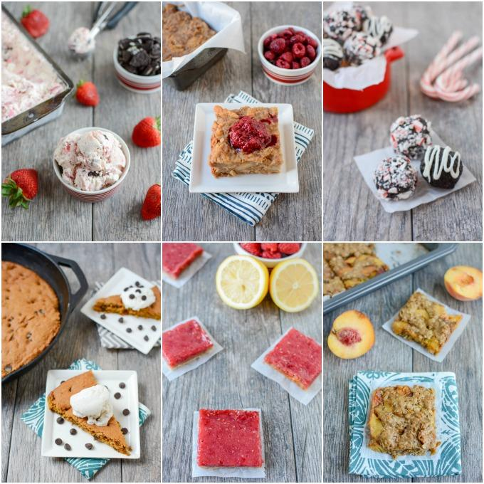 Easy, healthy dessert recipes from a Registered Dietitian.