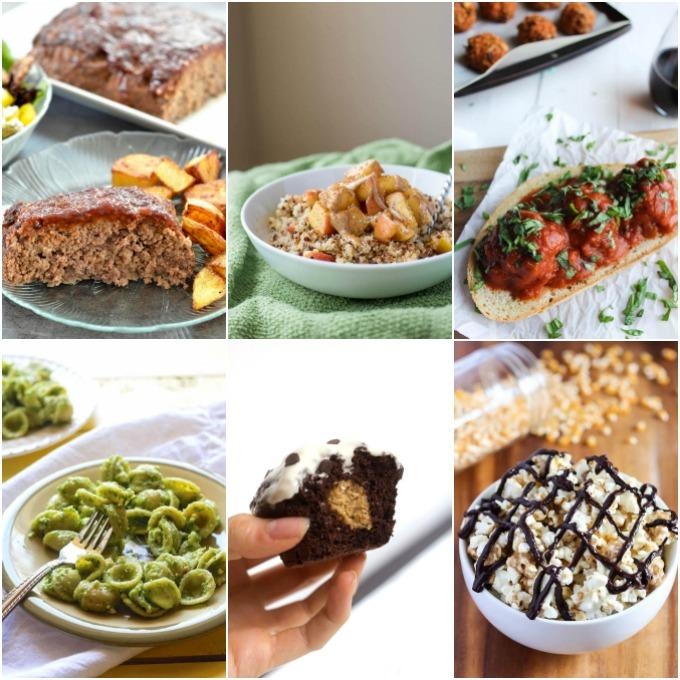 Quick, healthy recipe ideas for breakfast, lunch, dinner and dessert!