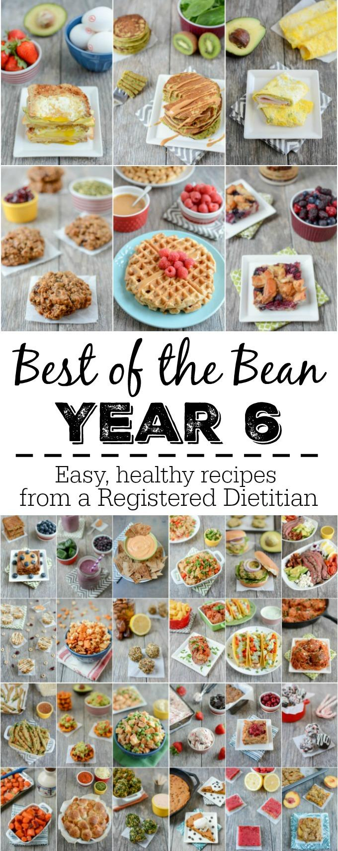 A year of healthy recipes from a Registered Dietitian.