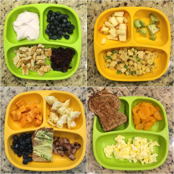 Toddler food plate ideas