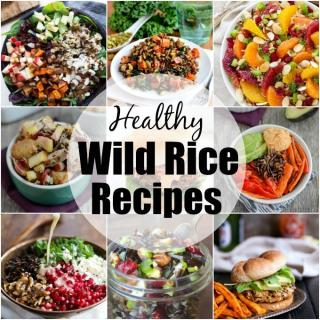 Looking for Healthy Wild Rice Recipes? Here are 15 protein-packed ways to use wild rice in dinner and side dish recipes!
