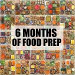 6 Months of Food Prep