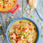 Instant Pot Thai Peanut Chicken Soup