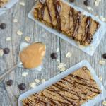 Peanut Butter Chickpea Bars