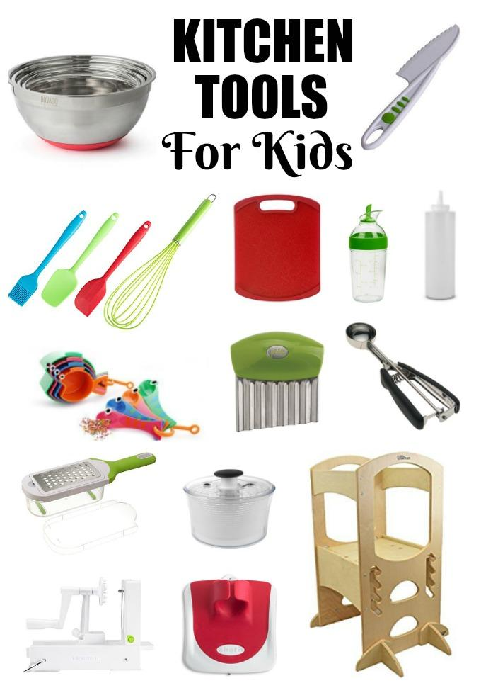 These Kitchen Tools For Kids are the perfect way to introduce children to the kitchen and teach them about healthy eating.