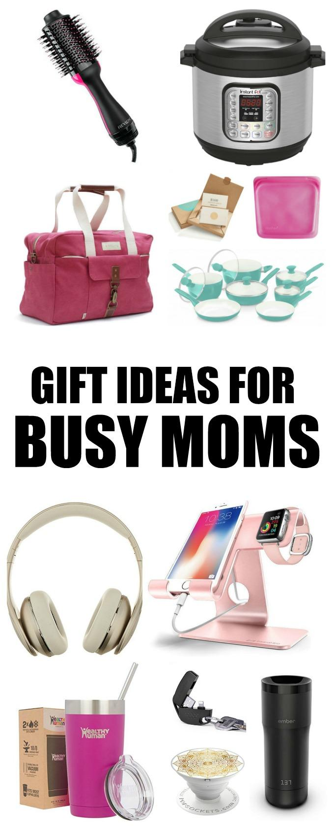 These Gift Ideas For Busy Moms are the perfect holiday presents for all the moms in your life this Christmas holiday!