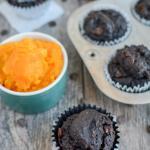 Chocolate Squash Muffins