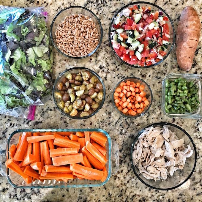 food prep components