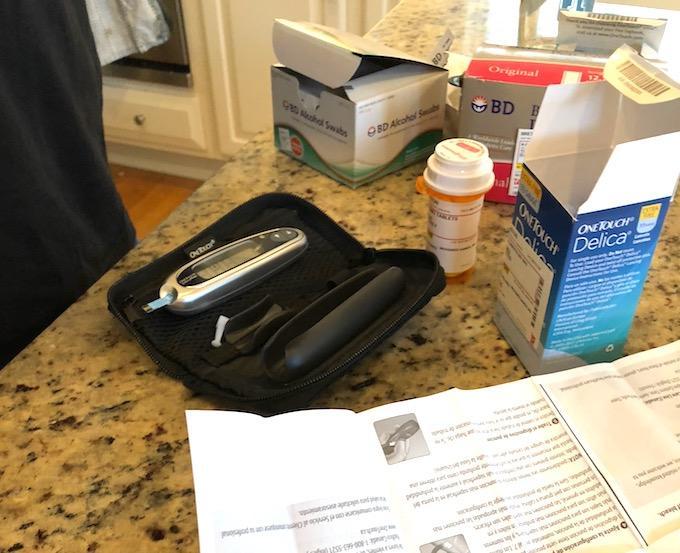 type 1 diabetes supplies