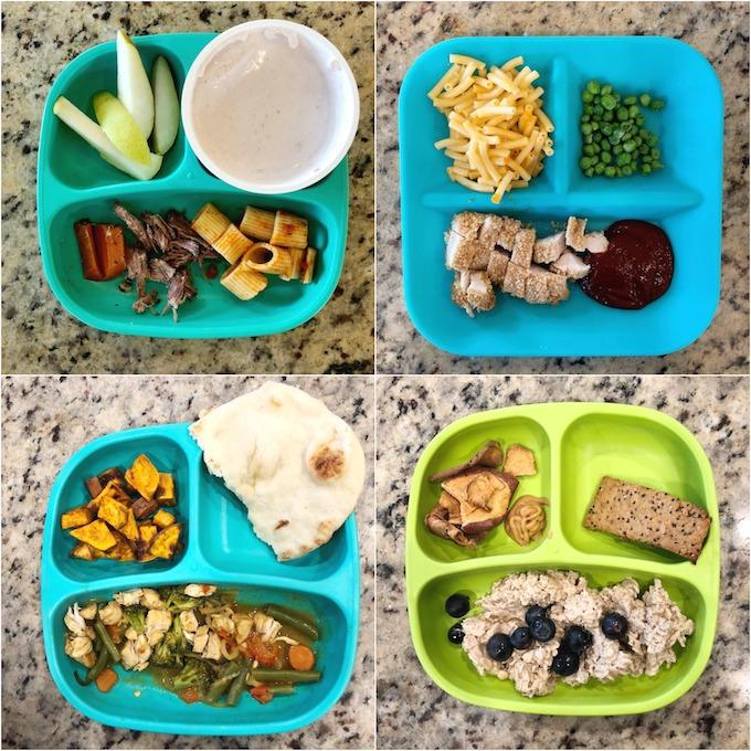 toddler food lunch and dinner