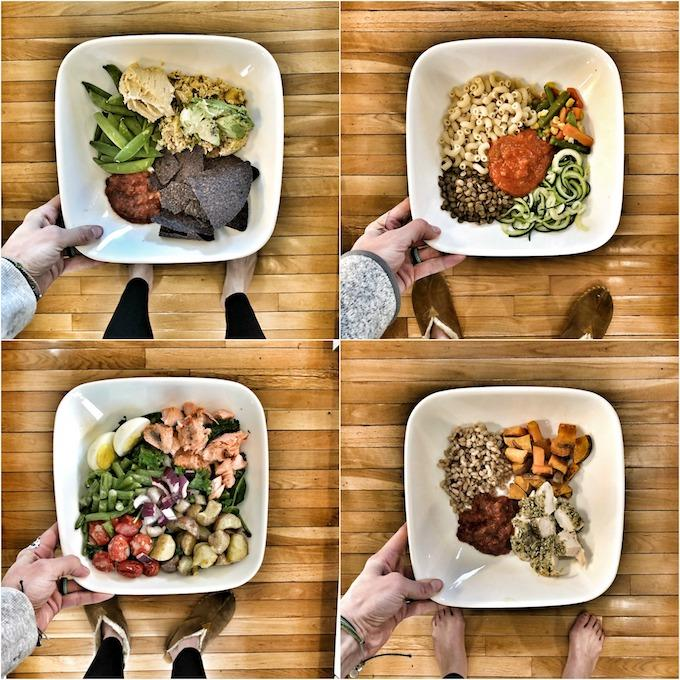 4 quick and easy lunch or dinner ideas