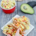 Chicken Bacon Avocado Breakfast Tacos 3