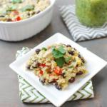 Salsa Verde Chicken Casserole 5