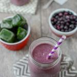 Wild Blueberry Kefir Smoothie 5