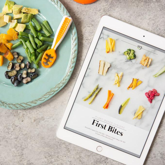 plant based juniors first bites ebook