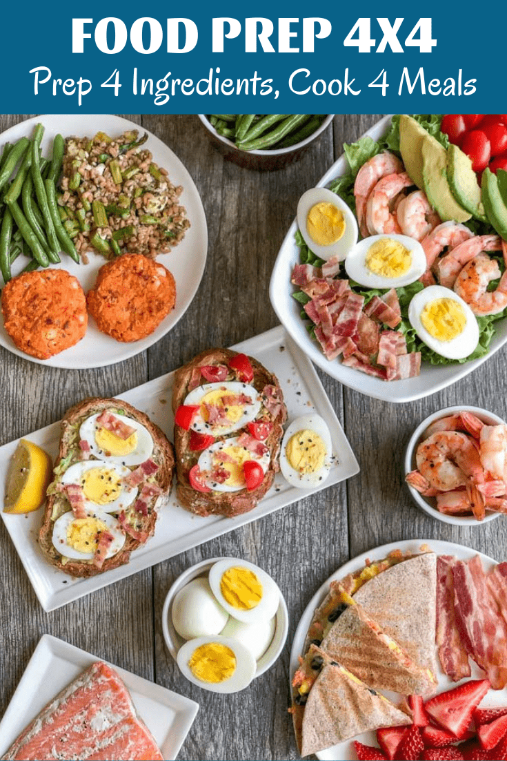 These easy egg recipes are perfect for lunch or dinner. You can add salmon to many of the recipes for an extra dose of omegas and heart-healthy fats. Use food prep to make mealtime even easier!