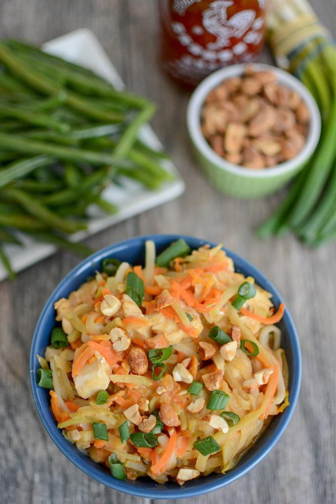 Instant Pot Asian Peanut Noodles