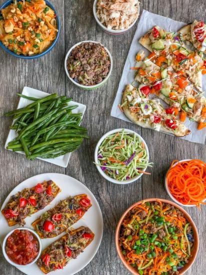 Easy Broccoli Slaw recipes - prep four ingredients, cook for meals