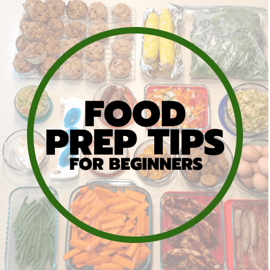 food prep tips for beginners