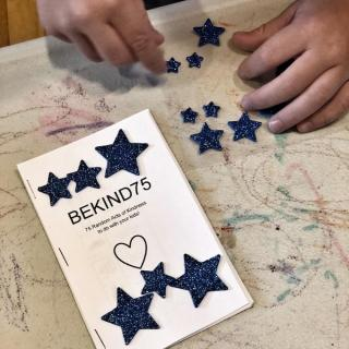 75 acts of kindness booklet for kids with star stickers