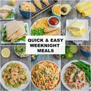 Easy Weeknight Meal Ideas