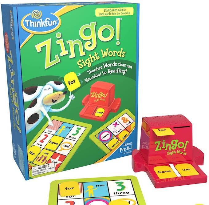 sight word zingo