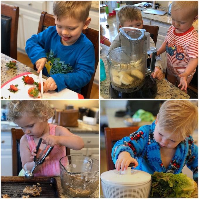 toddler kitchen tasks