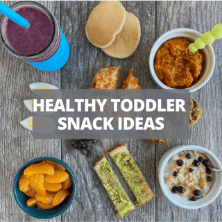 healthy toddler snack ideas homemade and storebought