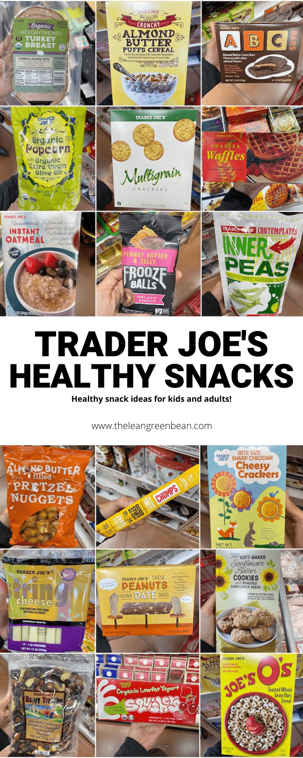 Looking for healthy Trader Joe's snacks? Here are 35+ ideas from cereal and oatmeal to popcorn and granola bars.