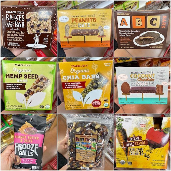 healthy trader joe's snacks