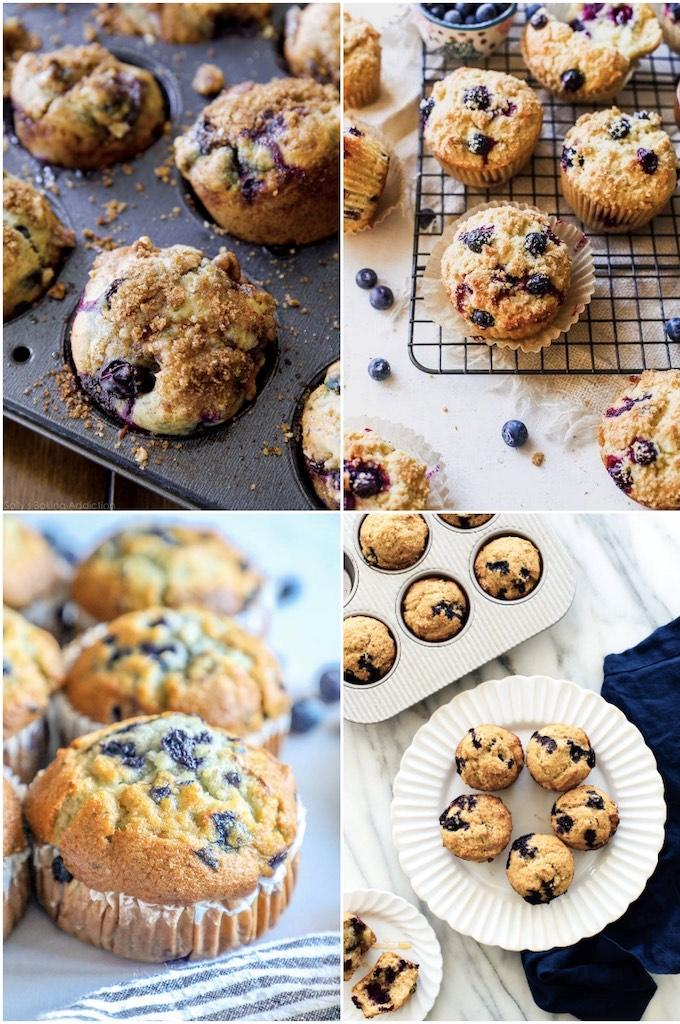 blueberry muffin recipes