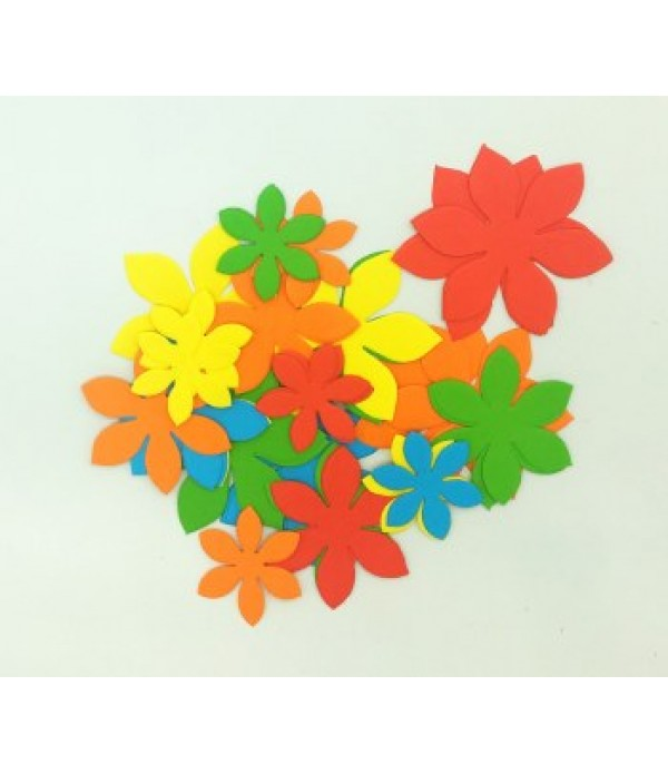 Flowers Cut Out Shapes