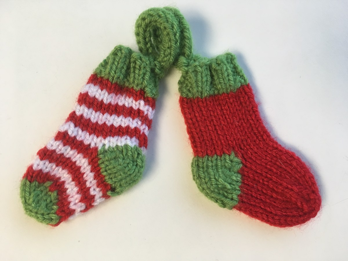 Mini Sock Ornament