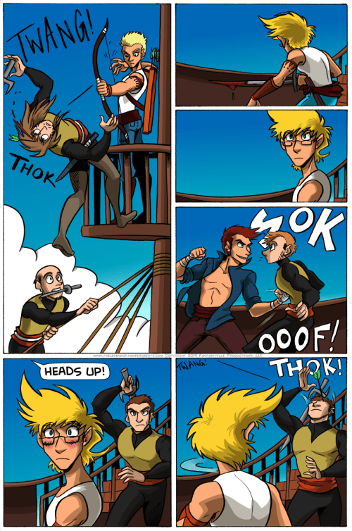the legend of jamie roberts genderqueer webcomic page 13