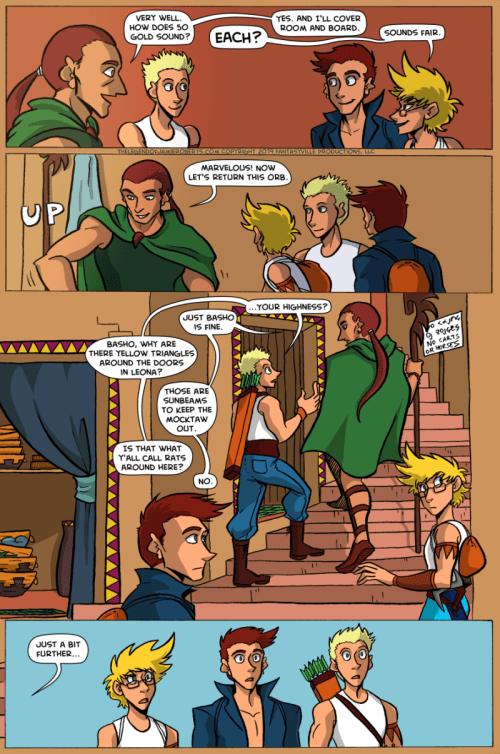 the legend of jamie roberts lgbtq genderqueer webcomic page 35