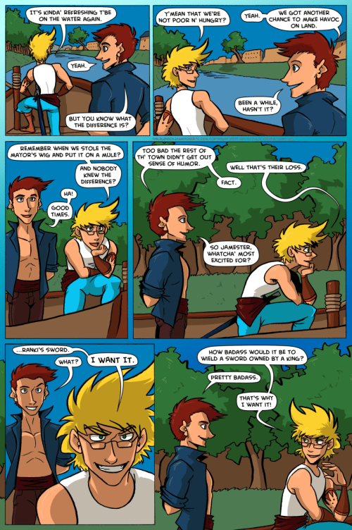 the legend of jamie roberts lgbtq genderqueer webcomic page 40