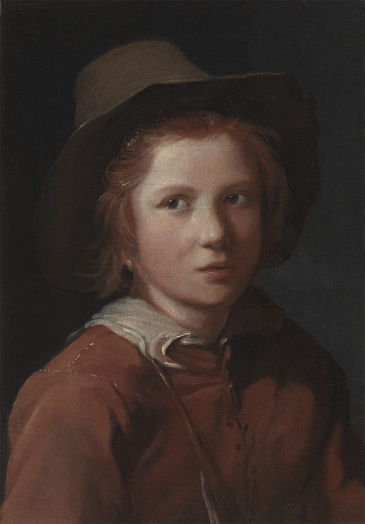 Portrait of a Young Boy with a Hat  The Leiden Collection