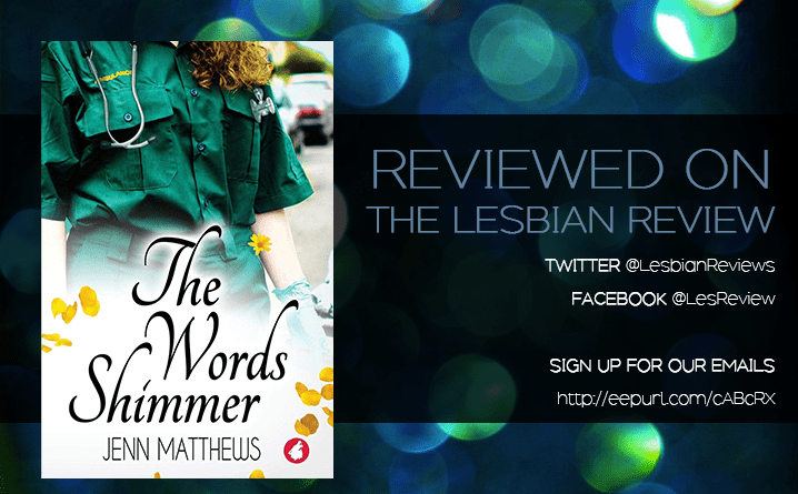 The Words Shimmer by Jenn Matthews