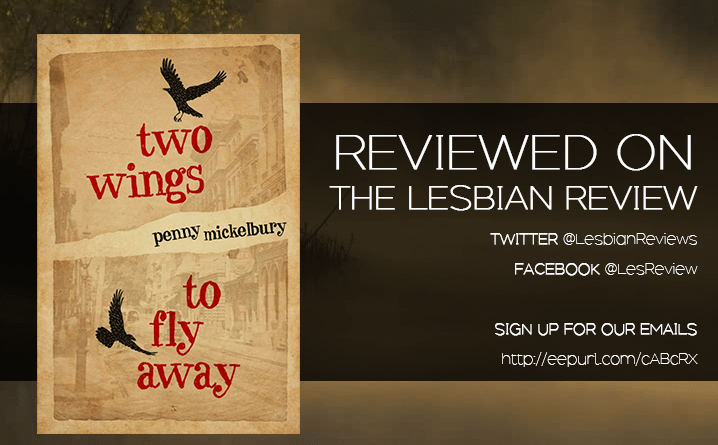 Two Wings To Fly Away by Penny Mickelbury