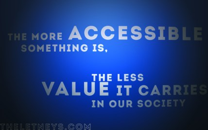 Accessibility and Value
