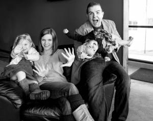 Silly Family Pic