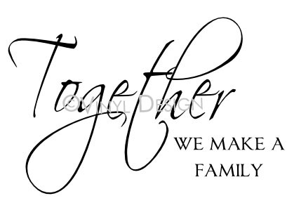 Together we make a family TL11B