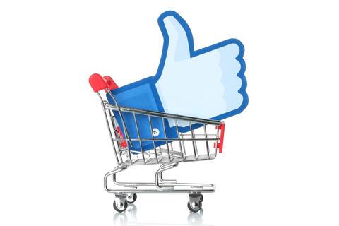 facebook-shopping-concept
