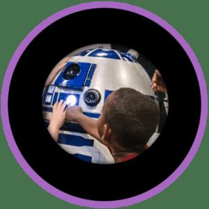 sx create r2d2 droid