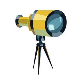 telescope long-term marketing concept