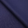 Mark & Peanni Dark Royal Blue Solid Terry Rayon Unstitched Fabric (1.25 Mtr) For Trouser
