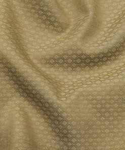 Roberto Ferrari Oat Beige Jacquard Unstitched Terry Rayon Suiting Fabric